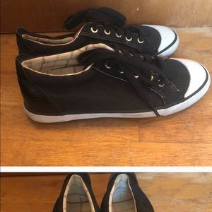 COACH BLACK SNEAKERS SHOES RELISTED